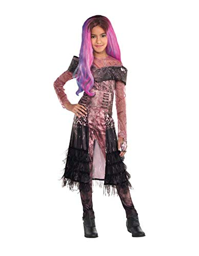 Party City Descendants 3 Deluxe Audrey Costume for Children, Size Extra-Large, Includes Jumpsuit, Belt, Glove, and Wig