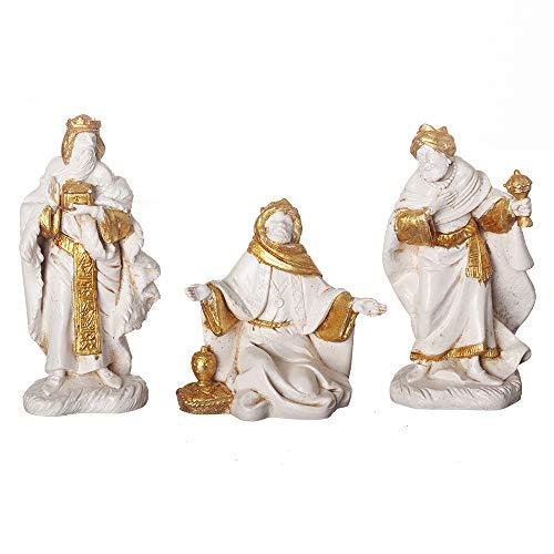 Fontanini, Nativity Figure, 3 pc Three Kings Set, Golden Edition, 5