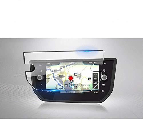LFOTPP Seat Arona Navigazione Pellicola Protettiva in Vetro Temperato Screen Protector Film - 9H Antigraffio HD Alta Trasparente Glass
