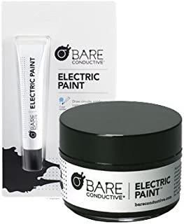 Bare Conductive Electric Paint Pen (10ml) and Paint (50ml) Combo - 1 Count