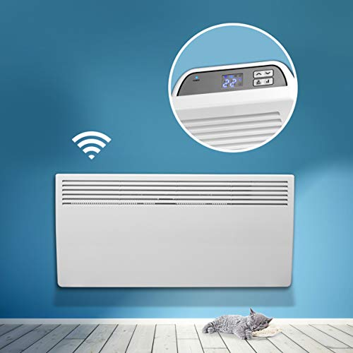 Devola Eco 2000W Wi-FI Enabled Electric Panel Heater With Thermostat Lot 20...