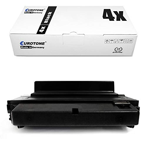 4X Eurotone Toner für Samsung ML 3470 3471 3475 D ND N ersetzt ML-D3470B