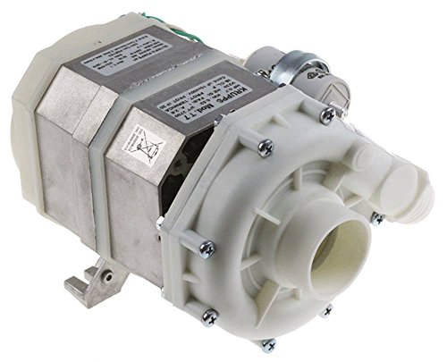 Olympia T7 Pumpe für Spülmaschine Krupps Koral-500, Koral-210 0,52kW/0,7PS 230V Eingang ø 50mm Ausgang ø 30mm Länge 220mm