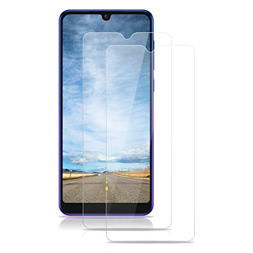 ROVLAK Panzerglas für Alcatel 3X 2019 Schutzfolie 2 Stück Panzerglasfolie 9H Festigkeit Bildschirmschutz Anti-Kratzen Tempered Glass Screen Protector 2.5D R&e Schutzglas HD Klar Folie für Alcatel 3X 2019