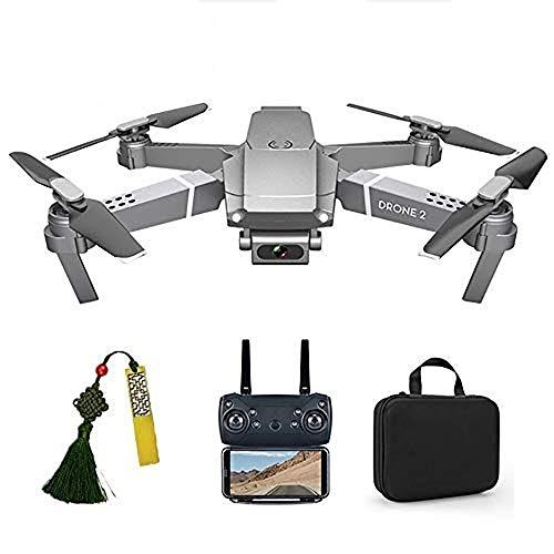 SZYLHT Drohne Kinder Drohne Mit Kamera 1080P WiFi FPV Live Übertragung Drone 2,4 Ghz Quadrocopter EIN-Knopf-Automatischer Rückkehr Stimmenkontrolle One Key Start Headless Modus Rucksack Anfänger,1bat