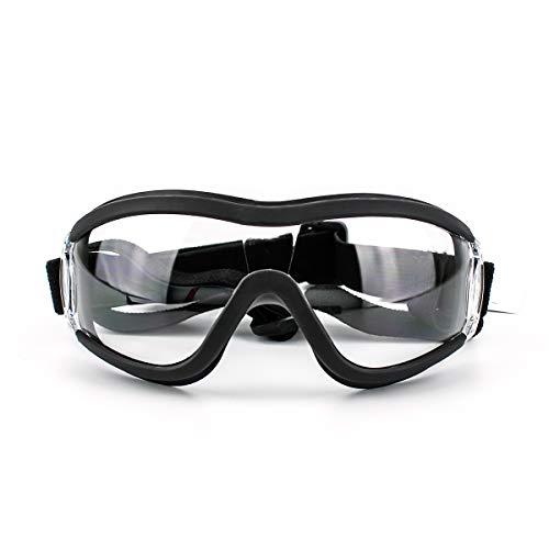 Adecuado para gafas medianas o grandes para perros, protección UV, gafas de sol a prueba de viento, gafas de sol a prueba de polvo, gafas con correa ajustable, herramientas de protección para perros