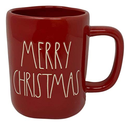 RAE DUNN ARTISAN COLLECTION MERRY CHRISTMAS mug