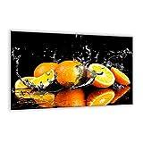 Piastra di copertura in vetro temperato 80x 52cm | grande tagliere | Kitchen Wall splash-back | Schermo per stufa elettrica in ceramica a induzione | 89165983| by semUp, 60 x 52 cm