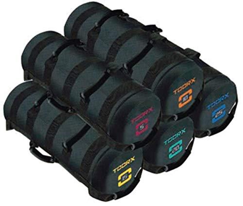 Toorx Power Bag con 6 impugnature - 15 kg. 6 IMPUGNATURE. Misure 55 cm. x Ø 22 cm