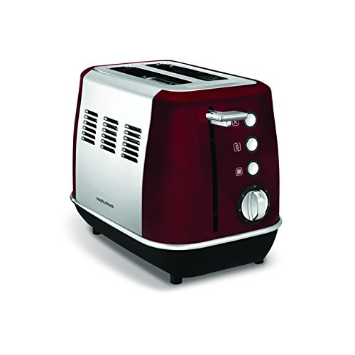 Morphy richards - m224408ee - Grille-pains 2 fentes 850w rouge evoke