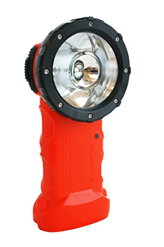 BrightStar Responder Right Angle Flashlight | Intrinsically Safe UL Class I, Division 1-3 Certified, 205 Lumens LED Spotlight For Fire Rescue, Work, Industrial Use, Emergencies, & More