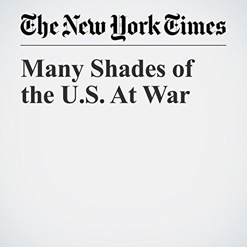 Many Shades of the U.S. At War copertina