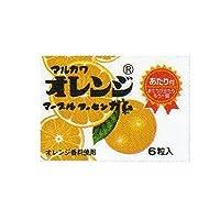 マルカワオレンジマーブルフーセンガム(6粒入り) 33個+3個(当たり)