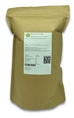 Sahnepulver 42 % Fett 750 g ideal für den Vorrat, Backmischungen, Kochen