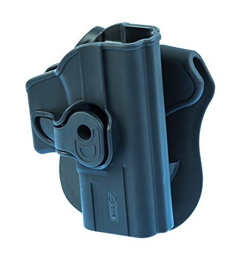 Caldwell Tac Ops Glock 26moldeado Retention Holster, Negro