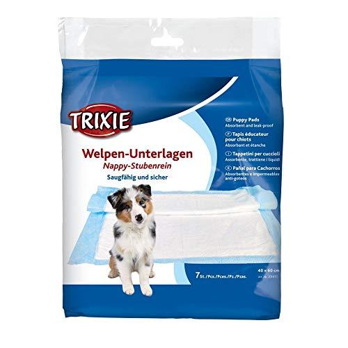 Trixie 23411 Welpen-Unterlage Nappy-Stubenrein, 40 × 60 cm, 7 St.