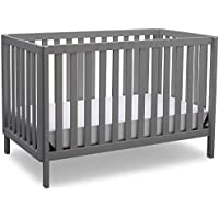 Delta Children Milo 3-in-1 Convertible Crib, Made of Sustainable New Zealand Wood