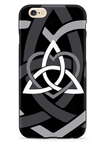 WLYing Case for iPhone 6/6s TPU Bumper Protective Phone Case for iPhone 6/6s Celtic Sisters Knot Black