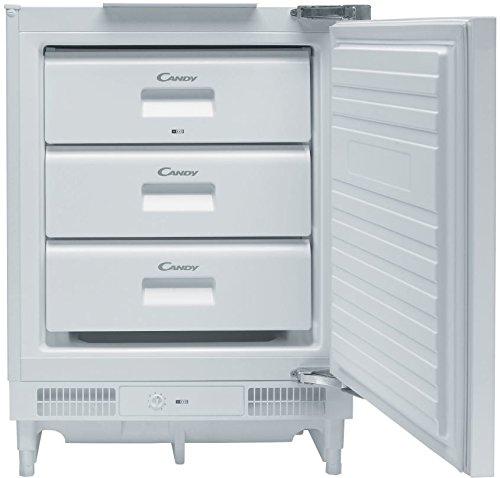 Candy CFU 135/1 E Integrado Vertical 97L A+ Blanco - Congelador (Vertical, 97 L, 6 kg/24h, N-ST, Sistema de descongelado, A+)