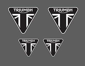 4 Adhesivos Triumph - Moto Stickers Daytona 675 Speed Street Triple Tiger Ktr002