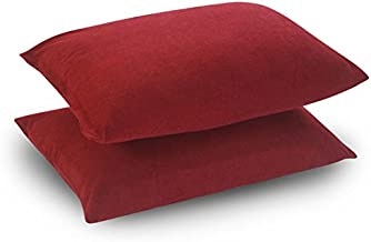 Uppercut 100% Cotton Water Resistant Pillow Protector - Set of 2, Maroon