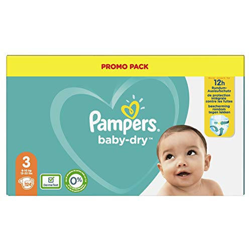 Pampers 81723656 BabyDry Pants windeln, weiß