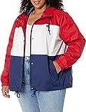 Levi's Women's Retro Hooded Track Jacket, Rinse, XL