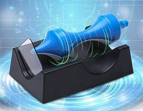 Magnetische Schweben Seitlich Floaten Kreisel Kein Strom Erforderlich Schreibtisch Deko Interessantes Geschenk, Weiß Blau