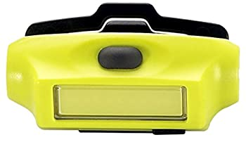 Streamlight 61700 Bandit 180-Lumen Rechargeable LED Headlamp with USB Cord Hat Clip & Elastic Headstrap White LED Yellow