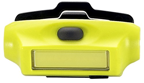 Streamlight 61700 Bandit 180-Lumen Rechargeable LED Headlamp with USB Cord, Hat Clip & Elastic Headstrap, White LED, Yellow