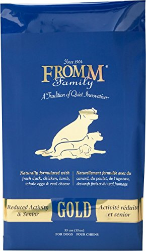 Fromm Gold Reduced Activity and Senior Dog Food