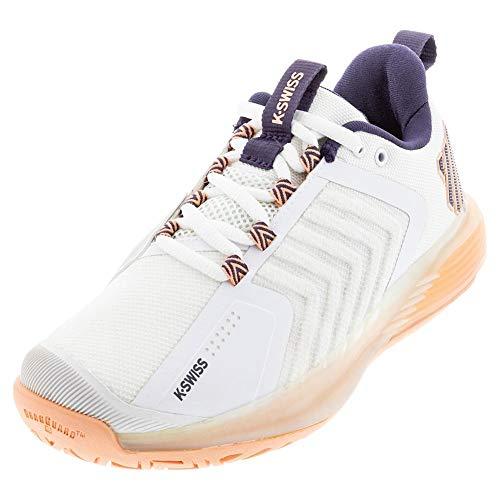 K-Swiss ULTRASHOT 3, Zapatos de Tenis Mujer, Blanco, 37 EU