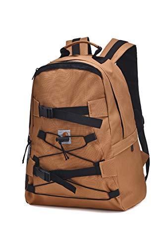 Carhartts Rucksack Kickflip Backpack Herren Damen Rucksack Tasche Freizeitrucksack (Khaki)