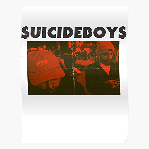 Die New Paris Uicideboy On Hand Album 2Nd Best Poster Wall Art for Home Decoration 16x24 Inches
