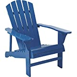 Leigh Country Classic Painted Acacia Wood Adirondack Chair - Royal Blue