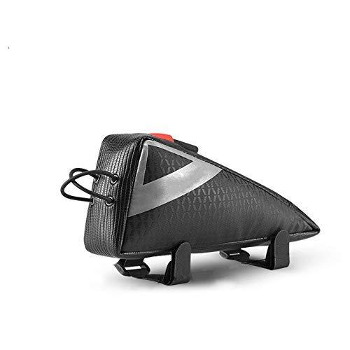 Nologo Fahrradtasche Fahrradtasche Ultralight Mini Größe Top Frontseiten-Schlauch-Rahmen-Dreieck-Beutel-bewegliche Wasserabweisend MTB Road Bike Bag Pannier aycpg