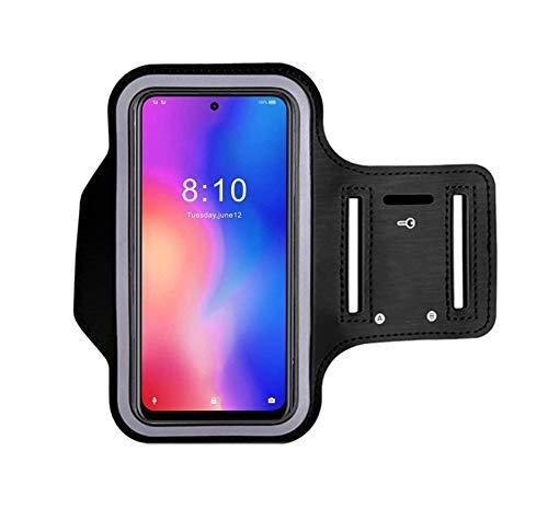 Bolso para Brazalete, Bolsa de Brazo para teléfono para Correr para Huawei Y7 2019 / Armor X5 Bolsa para teléfono móvil Deportivo para Ciclismo al Aire Libre con Llavero