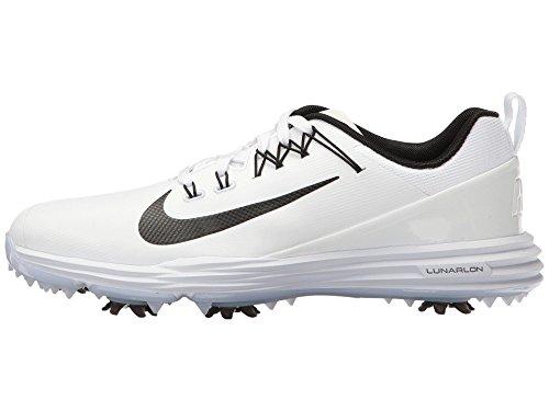 Nike Damen Lunar Command 2 Golfschuhe, Weiß (White/Black), 42 EU
