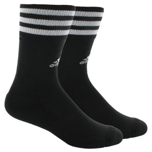 adidas Herren Copa Zone Training Crew Socke, Schwarz/Weiß, Medium, Herrenschuhgröße 38-42, Damenschuhgröße 38-42
