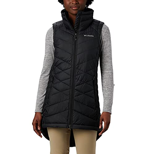 Columbia Women's Heavenly Long Vest, Black, Medium
