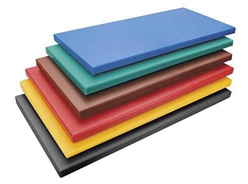Lacor 60577 Tabla De corte para, Polietileno, Negro