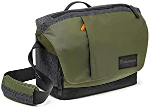 Manfrotto Street Large Messenger Bag for DSLR/CSC Cameras, Special Edition, Green/Gray