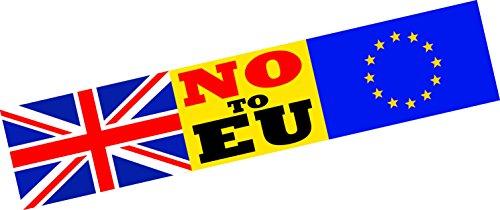 Pas à EU Europe sortie brexit voiture Bumper Sticker fenêtre Porte Business Van Taxi