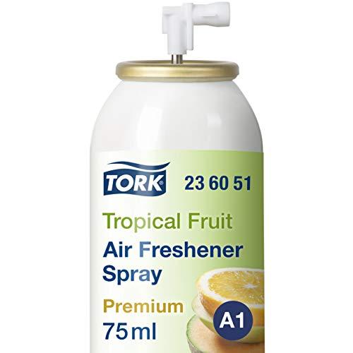 Tork 236051 Lufterfrischer Spray mit Fruchtduft / Neutralisiert schlechte Gerüche und sorgt für langanhaltende Frische / 1er Pack Nachfüller Duftspray A1 Premium / 1x75ml