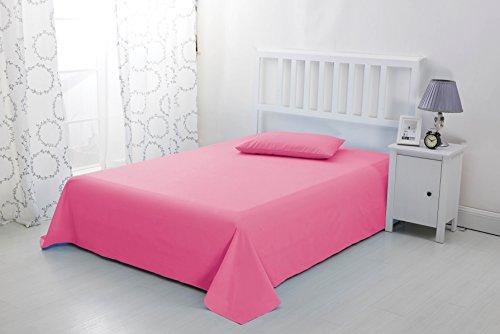 Sonia Moer Luxus Tagesdecke Aus Weicher Microfaserbettdecke - Doppelbett, Pink