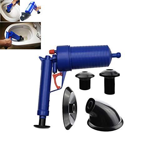 WXQDD dredge Air Power Drain Blaster Pistole Hochdruck Leistungsstarke Handspüle Plunger Opener Reiniger Pumpe Für Bad Toiletten Bad Dusche Ki