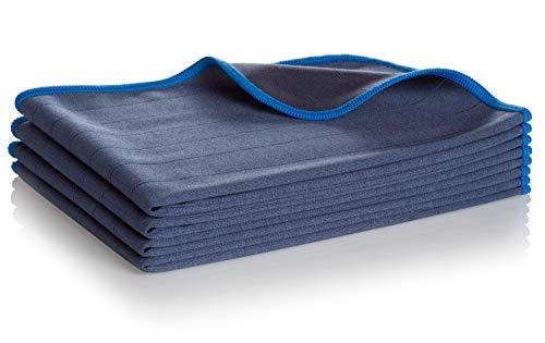 Aurum-Performance® Chiffons en Microfibre de Carbone de qualité supérieure - 100% Non Pelucheux pour Nettoyer Les vitres de Voiture sans Laisser de Traces et Une clarté cristalline (4)