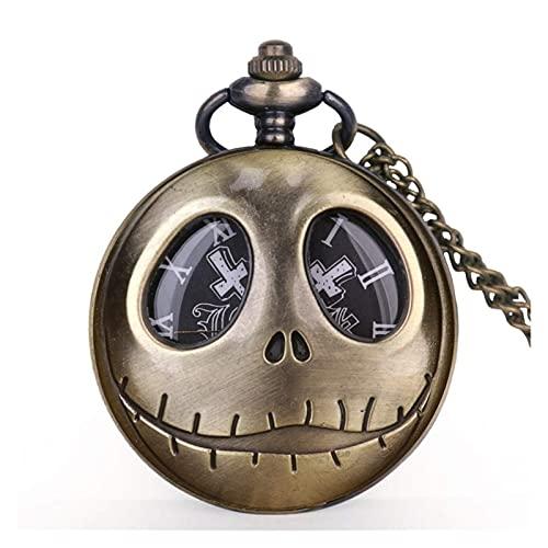DealMux Reloj de bolsillo Reloj de bolsillo con temática de película antigua...