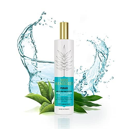 1001 Remedies Lavendelspray- Kissenspray für Kopfkissen- Einschlafhilfe für Erwachsene und Kinder- Aromatherapie Lufterfrischer mit echtem naturreinem Lavendelöl- 100ml Lavendel spray
