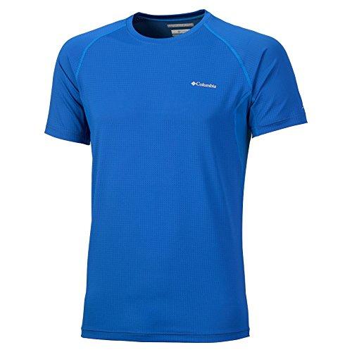 Columbia Quickest Wick - T-shirt manches courtes Homme - bleu Modèle S 2014 tshirt manches courtes